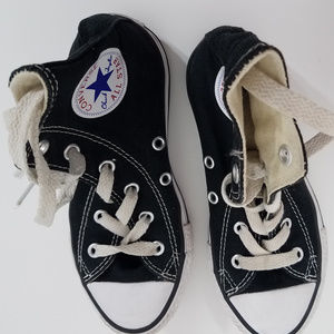 Converse Laced Casual Girls Youth Shoes